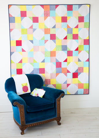 PATTERN (PDF): The Picnic Quilt (Immediate Download)