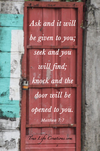 """The Door"" Matthew 7:7"