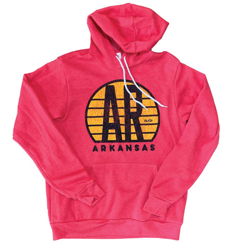 AR Sunset Hoodie - Red