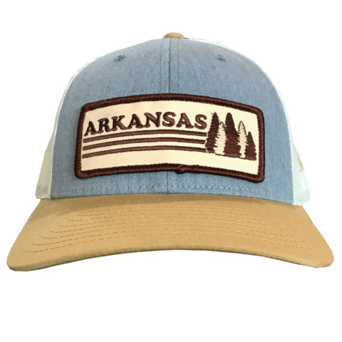 AR Trees Hat - Heather Grey/Amber Gold