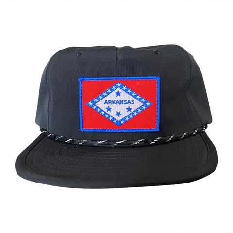 AR Flag Packable Hat - Black
