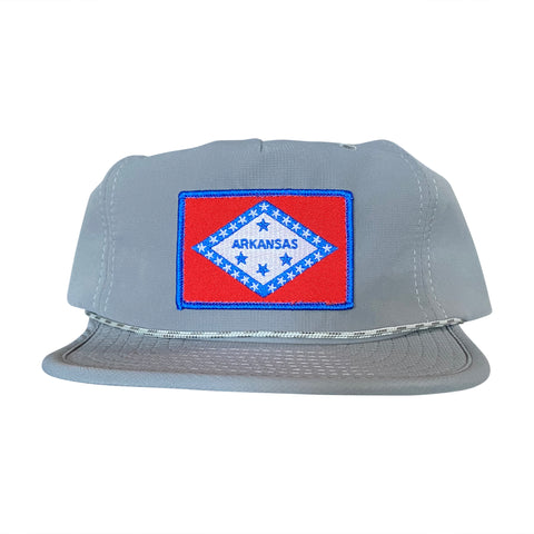 AR Flag Packable Hat - Grey