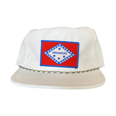 AR Flag Packable Hat - White