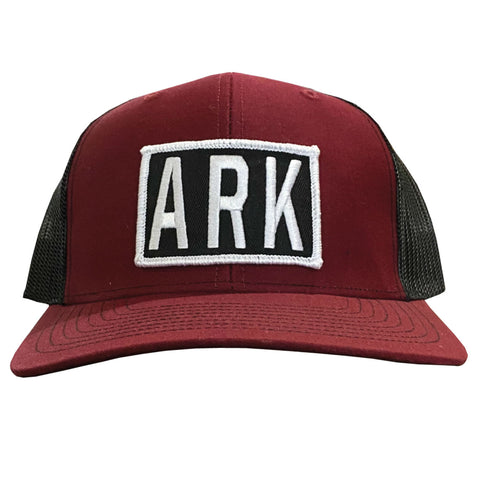 ARK Hat - Cardinal/Black