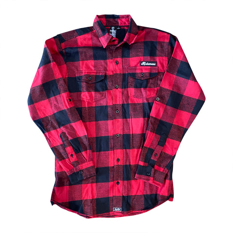 AR Flannel - Red/Black Buffalo