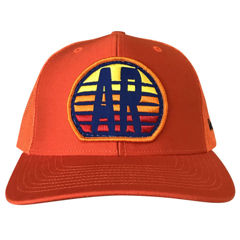 AR Sunset Hat - Orange
