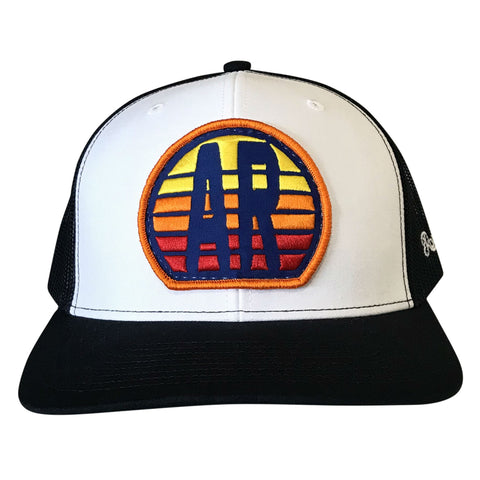 AR Sunset Hat - White/Navy