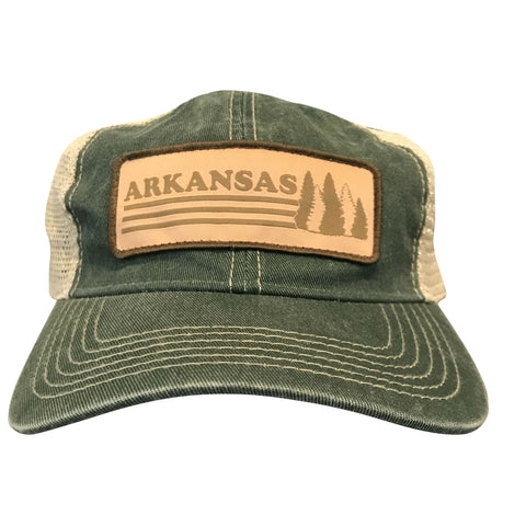 AR Trees Dad Hat - Green/Khaki