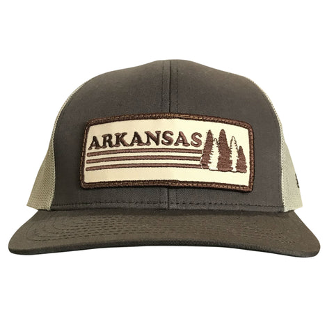 AR Trees Hat - Brown/Khaki