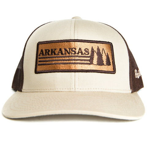 AR Trees Hat - Khaki/Brown