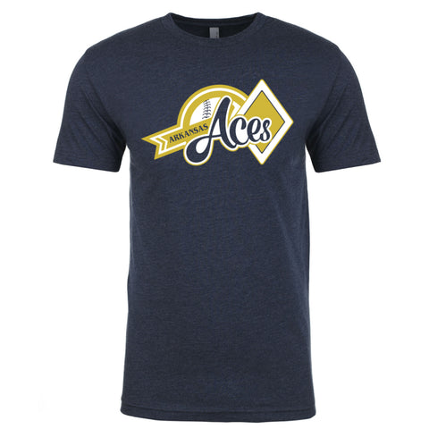 Aces Men's Cotton/poly Blend Tee