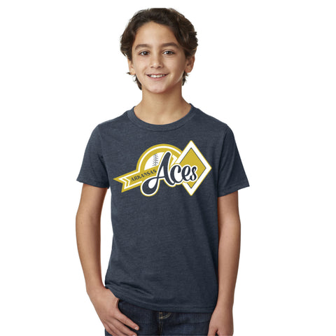 Aces Youth Blend Tee