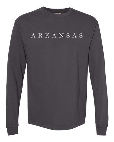 Hometown Long Sleeve - Graphite