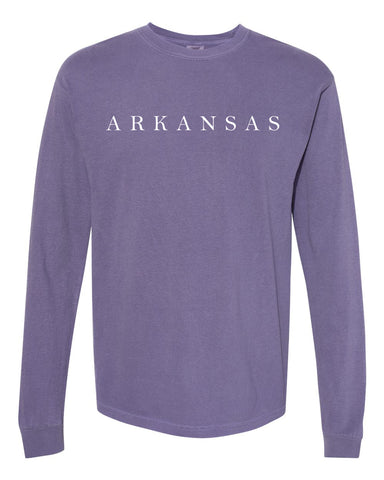 Hometown Long Sleeve - Purple
