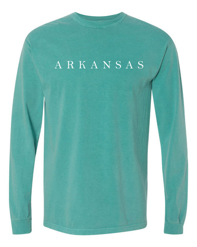 Hometown Long Sleeve - Seafoam