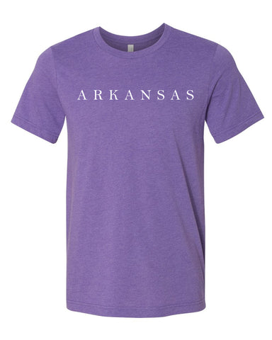 Hometown Tee - Heather Purple