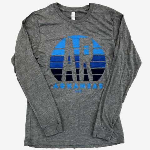 Arkansas Sunset Blue Long Sleeve