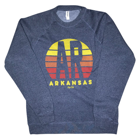 AR Sunset Sweatshirt - Navy