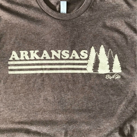 Arkansas Trees Tee - Espresso