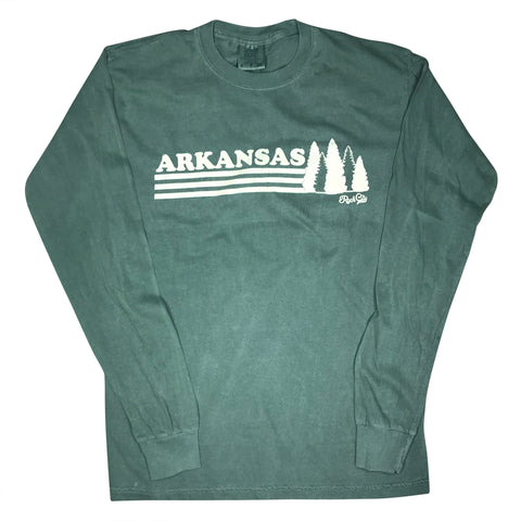 Arkansas Trees Long Sleeve - Hemp