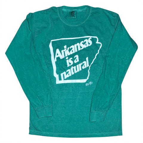 AR is a Natural Long Sleeve - Grass Green