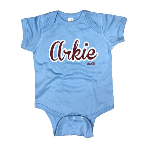 Arkie Bodysuit - Light Blue