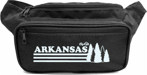 Arkansas Trees Fanny Pack - Black