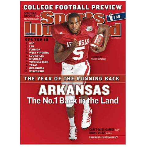 Darren McFadden Sports Illustrated