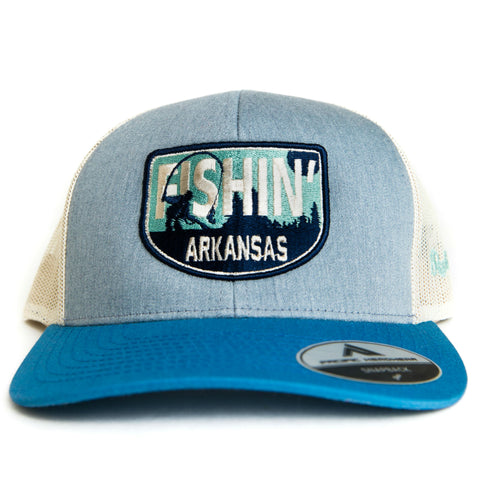 Fishin' AR Hat - Heather Grey/Beige