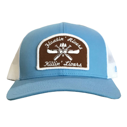 Floatin' Rivers Hat - ColBlue/White