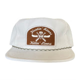 Floatin' Rivers Packable Hat - White