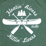 Floatin' Rivers Killin' Livers Tank - Hemp