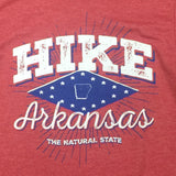 Hike Arkansas - Red