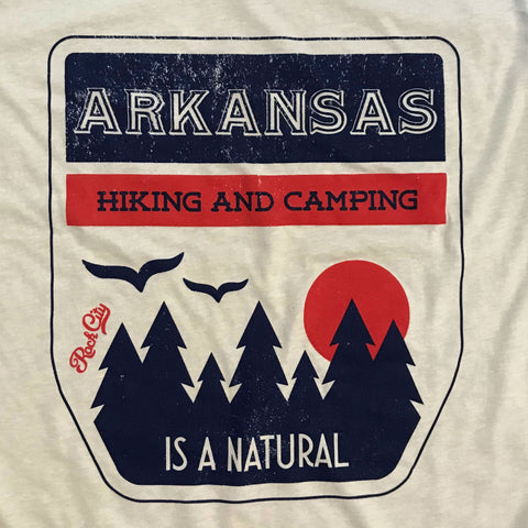 Hiking and Camping Arkansas - Sand