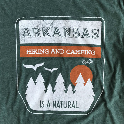 Hiking and Camping Arkansas