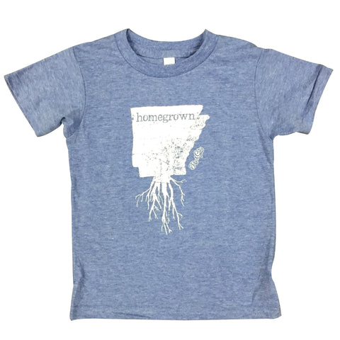 Homegrown Blue Kids Tee