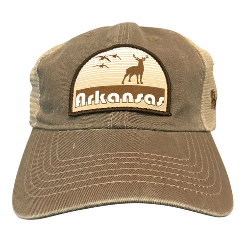 Hunt AR Dad Hat - Brown/Khaki