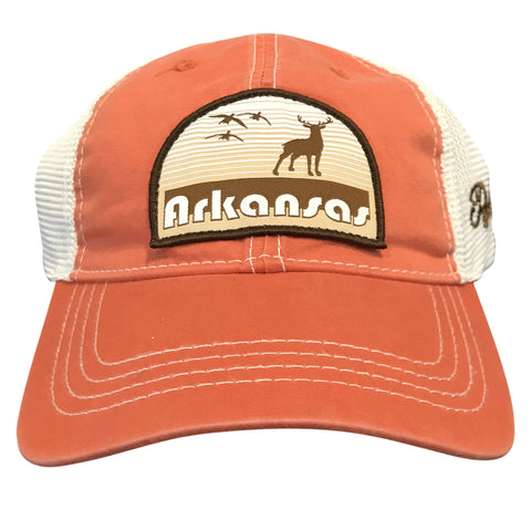 Hunt AR Dad Hat - Orange