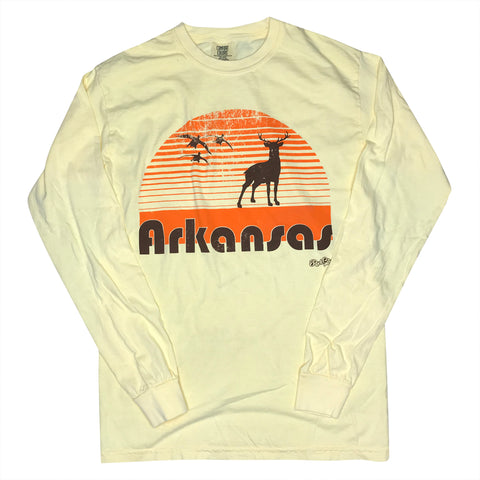 Hunt Ark. Long Sleeve - Butter