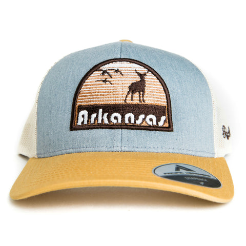 Hunt AR Hat - Heather Grey/Amber Gold