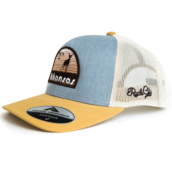 d91c53fe1d9 Hunt AR Hat - Heather Grey Amber Gold – Rock City Outfitters