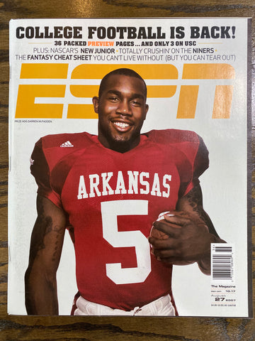 Darren McFadden Sports Illustrated 2007