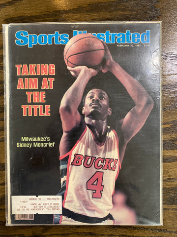 1982 Sidney Moncrief Sports Illustrated