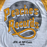 Peaches Records Raglan