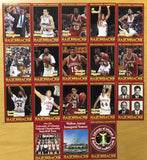 1994 National Championship Season Baskettball Cards