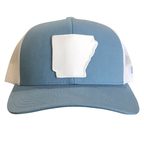State of AR Hat - Col Blue/White
