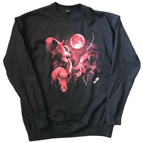 Three Hawg Moon Sweatshirt