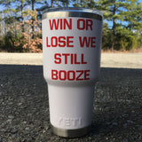 Win or Lose Yeti, White