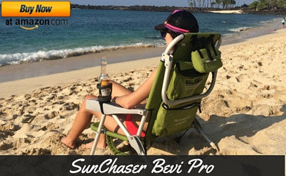 SunChaser Bevi Pro Outdoor Drink Holders for Beer Cans, Bottles, Cups, and Other Beverages