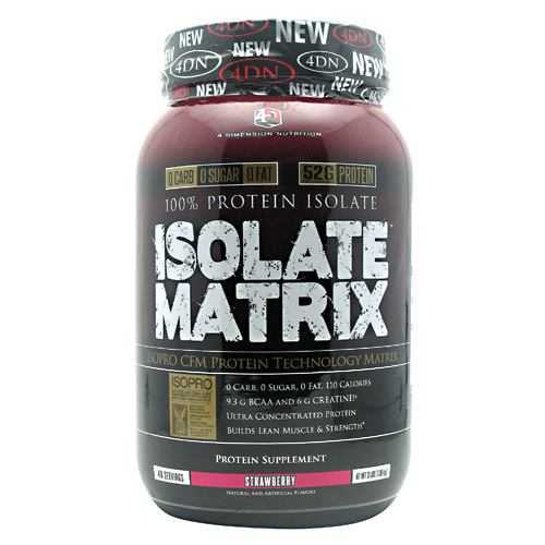 4 Dimension Nutrition Isolate Matrix